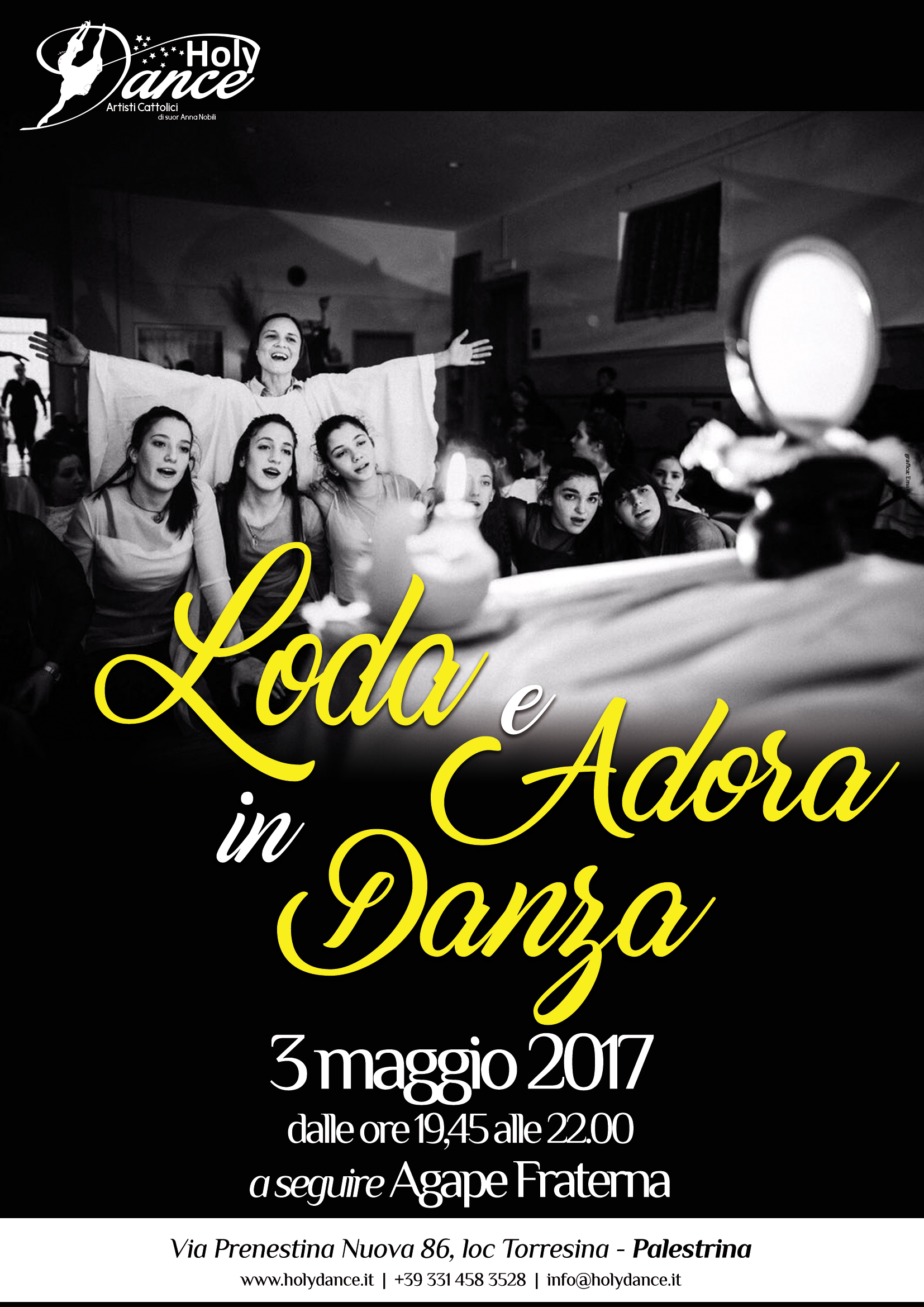 Loda e Adora in Danza a Palestrina