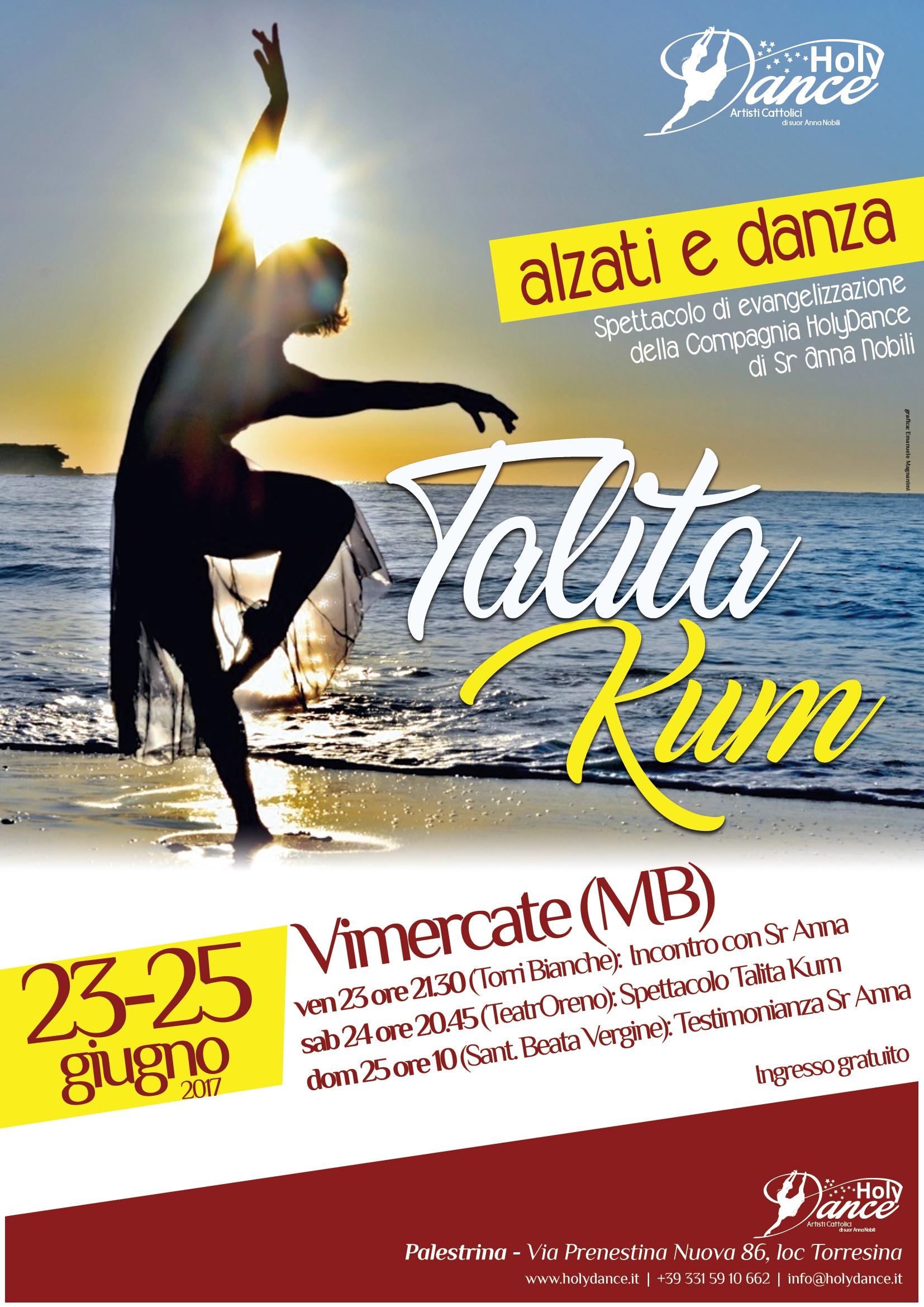 Talita Kum – Alzati e Danza a Vimercate